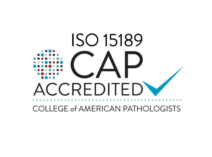 ISO 15189 CAP Accredited